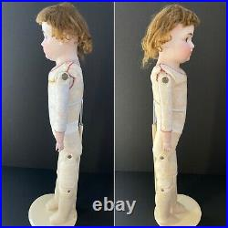 Antique German 24 Kestner 154 Bisque Head Doll Kid Body