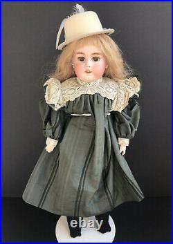 Antique German 24 Simon & Halbig 1080 Bisque Shoulder Head Doll
