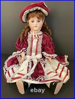 Antique German 26 William Goebel B 6 Bisque Head Doll Composition Body