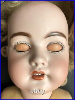 Antique German 27 Simon Halbig S. H. 1079 DEP. Bisque Head Doll