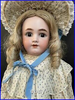 Antique German 28 Handwerck, Simon Halbig Bisque Head Doll
