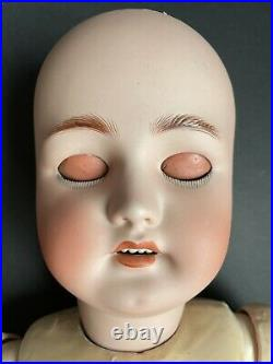 Antique German 29 Bergman Simon Halbig Bisque Head Doll