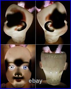 Antique German 30 Handwerck 109 15 1/2 Bisque Head Doll