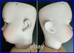 Antique German 31 Simon Halbig 1078 Bisque Head Doll for Repair