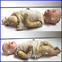 Antique German 8 Heubach Koppelsdorf 300 Bisque Head Baby Doll