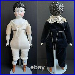 Antique German Alt Beck Gottschalck 880 Child China Head Boy Doll