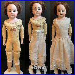 Antique German Armand Marseille 95-4 DEP Bisque Shoulder Head Doll
