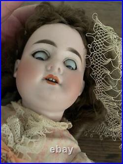 Antique German Armand Marseille Porcelain Head Doll