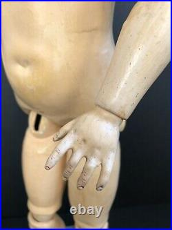 Antique German Armand Marseille Queen Louise Bisque Head Doll