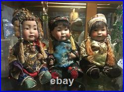 Antique German Bisque Head Baby Doll Jd Kestner 243 Oriental 13