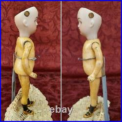 Antique German Bisque Head Tiny Child Doll Kammer Reinhardt S&H WALKER 7 Rare