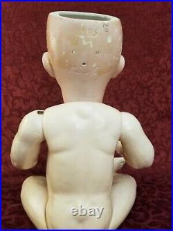 Antique German Bisque Socket Head Life Size Character Doll 1295 Franz Schmidt