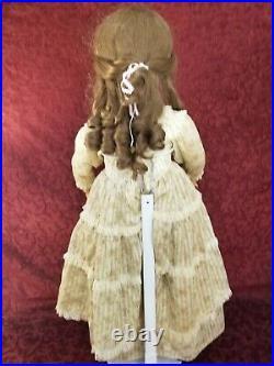 Antique German CM Bergmann Simon Halbig Bisque Socket Head Doll Brown Sleep Eyes