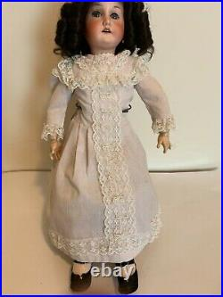 Antique German Doll BISQUE HEAD, BALL JOINTED COMPOSITION BODY 21 2