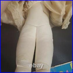 Antique German Kestner Doll DEP 7 1/2 Bisque Head Doll 18 BO Leather Body