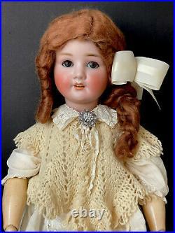 Antique German Schoenau & Hoffmeister 30 Doll Bisque Head Composition Body