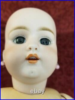 Antique German Simon Halbig 1079 Bisque Socket Head Doll Original Body & Head