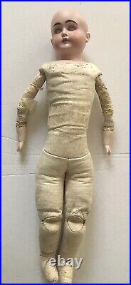 Antique German Turn Head Bisque Doll