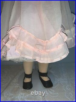 Antique German Walkure Bisque Head Doll 26 Sleep Eyes
