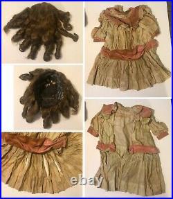 Antique HEINRICH HANDWERCK SIMON HALBIG 28 Doll Bisque Socket Head Jointed Body