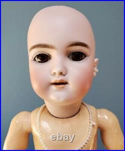 Antique Heinrich Handwerk Doll Marked 109 7 1/2 Germany 15 Tall Bisque Head