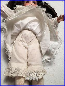Antique Kley Hahn K&H 250 Walkure Bisque head Doll Composition Body Curio Case