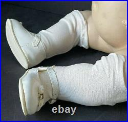 Antique Large 21 Goebel Character Baby Doll Bisque Head B5 Composition Body