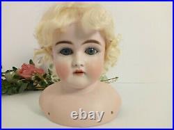 Antique Large KESTNER Bisque Head For 32 Doll K 14 GERMANY