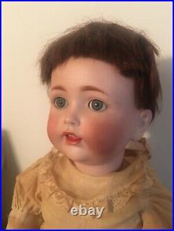 Antique Original J. D. K. Kestner #257 Bisque Head Baby Doll 16in