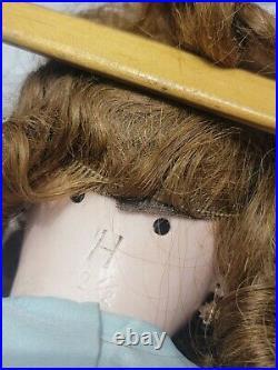 Antique RARE Heinrich Handwerck Bisque Head Doll with Pierced Ears Earrings