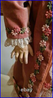 Antique Simon & Halbig #1078 Large 33 Germany Antique Bisque Head Doll