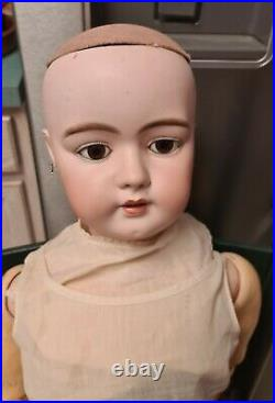 Antique Simon & Halbig #1098 Very Large 37 Germany Antique Bisque Head Doll