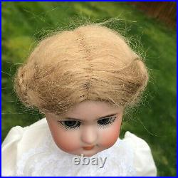 Antique Simon & Halbig Bisque Head & Jointed Composition Body 16 Doll Adorable