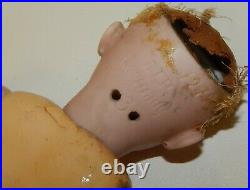 Antique Simon and Halbig 1279 Bisque Doll Head on Composition Body 11 Germany