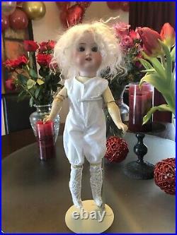 Antique doll armand marseille Floradora 16 Besque Head Composition Body