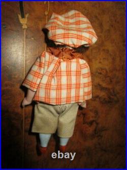 Antique miniature Kestner Googly-Googlie doll, bisque head- -Germany