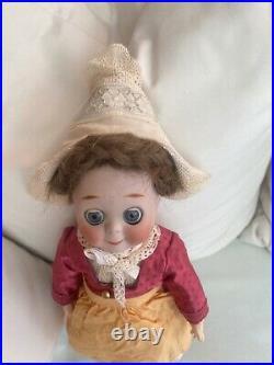 Antique porcelain head doll -Kestner # 221