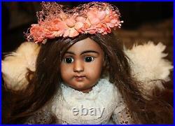 Beautiful Angel S&H 1009 Cafe Au Lite/Black/Mocha/Brown 18 Perfect Head