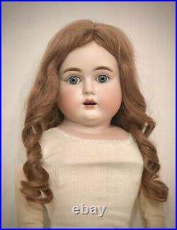 Beautiful Antique German Bisque Doll Kestner Turned-Head Letter Series O