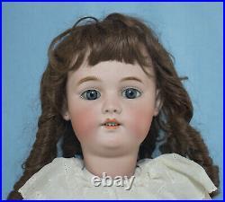 Big Antique German 28 Simon Halbig S. H. 1079 DEP. Bisque Head Doll