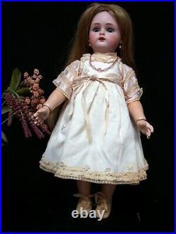 Cabinet Size Doll- Antique Bisque Head Doll Simon & Halbig KR BJ Body Exc