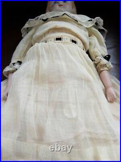 Fabulous Rare Molded Hair 974 PARIAN BISQUE Doll HEAD Alt Beck Gottschalk 19
