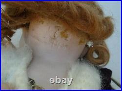Fine antique German bisque head Kestner doll marked 7 1/2 148