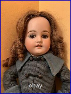 Gerbruder Kuhnlenz 44-28 Dep Starburst Marked Bisque Head Doll For French Market