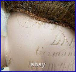 Germany Handwerck Halbig Child Doll #109 Bisque Head Composition Body 27