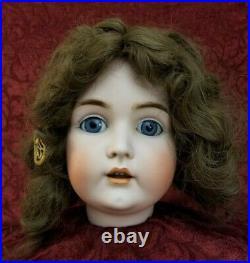Huge Antique German Kestner 171 Bisque Socket Head16 1/2 Blue Working Sleep Eyes