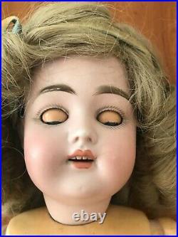 Kestner 168 Child Doll, Bisque Socket Head