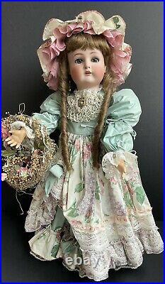 Large Antique German 30 Kammer Reinhardt Simon Halbig 76 Bisque Head Doll