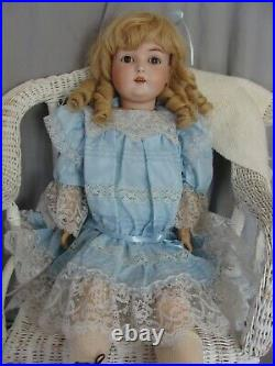Large Antique German Doll, 29 Kestner 171, Ball Jointed Compo Body, Bisque Head