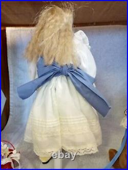NEW! 14 Antique Kling 172 Solid Dome Shoulder Head Doll Marked with 3 9